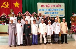 An Phú: Tổ chức thành công Đại hội các dân tộc thiểu số lần thứ III năm 2019