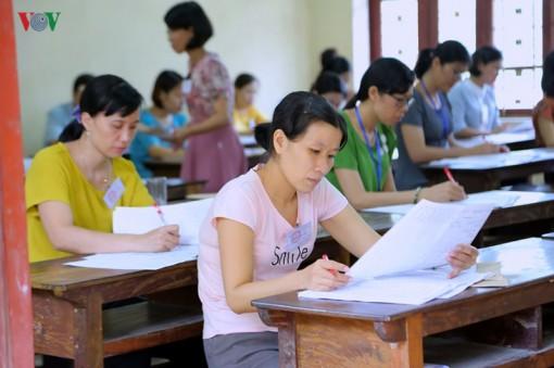 Chấm thi THPT quốc gia 2019: Rất ít thí sinh đạt từ 8 điểm Ngữ văn