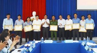 Tịnh Biên: Sơ kết thực hiện nhiệm vụ 6 tháng đầu năm 2019