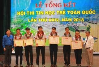 248 thí sinh tham dự Hội thi Tin học trẻ toàn quốc lần thứ XXV