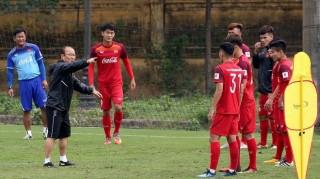 HLV Park Hang-seo: Hoàn thiện dần những vị trí trong đội tuyển U22 Việt Nam