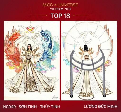 Miss Universe: 18 trang phục dân tộc cho Hoàng Thùy được chọn