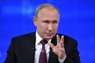 Tổng thống Vladimir Putin: Nga sẵn sàng đối thoại với Ukraine