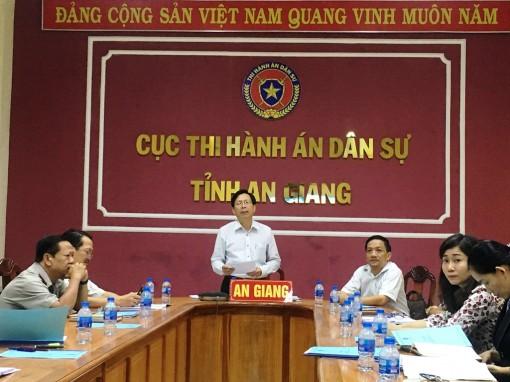 Hội nghị trực tuyến sơ kết công tác tư pháp 6 tháng đầu năm