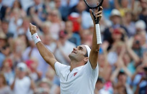 Hạ Nadal, Roger Federer lần thứ 12 vào chung kết Wimbledon
