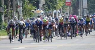 Cuộc đua xe đạp nữ Truyền hình An Giang: Các cô gái Hàn Quốc tỏ rõ tham vọng