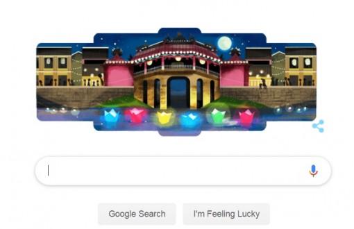 Google vinh danh Hội An trên trang chủ