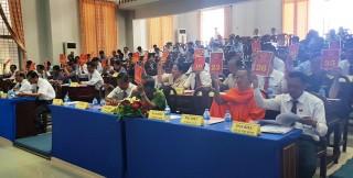 Kỳ họp lần thứ 11 HĐND huyện Tịnh Biên, nhiệm kỳ 2016-2021