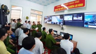 Châu Phú phát huy hiệu quả mô hình camera an ninh