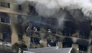 Ít nhất 10 người thiệt mạng trong vụ cháy xưởng phim hoạt hình ở Nhật Bản
