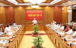 Tổng Bí thư, Chủ tịch nước chủ trì phiên họp về chống tham nhũng