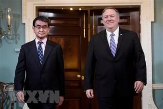 Ngoại trưởng Mỹ, Nhật thảo luận về vấn đề phi hạt nhân hóa Triều Tiên