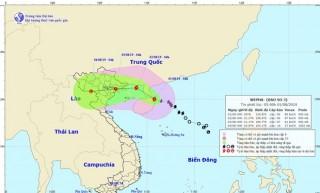 Tối 1-8, bão số 3 sẽ đi vào Vịnh Bắc Bộ và có khả năng mạnh thêm