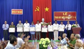 Tịnh Biên tập trung công tác xây dựng Đảng