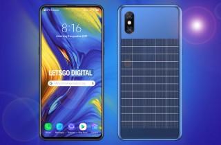 Sắp có smartphone chạy năng lượng mặt trời