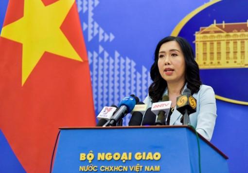 Phản đối Trung Quốc tiến hành huấn luyện quân sự ở khu vực quần đảo Hoàng Sa