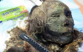 Sửng sốt xác ướp 'công chúa vùng cực' còn nguyên lông mi