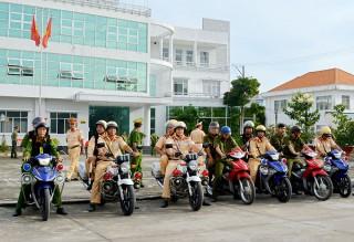 Châu Thành giữ vững an ninh trật tự, an toàn giao thông