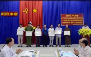 Tịnh Biên 50 năm thực hiện Di chúc Chủ tịch Hồ Chí Minh