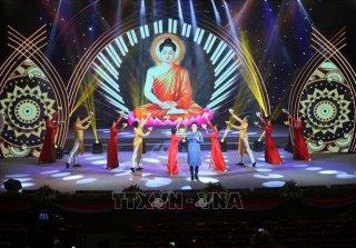 Thể hiện tinh thần hòa quyện giữa Phật giáo Việt Nam và non sông đất nước