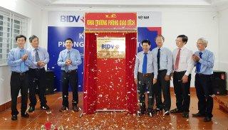 Khai trương Phòng Giao dịch BIDV Tri Tôn