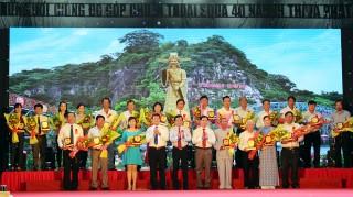 Tri ân những người có công đóng góp cho sự phát triển của huyện Thoại Sơn