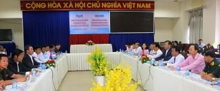 Thống nhất chủ trương mở cửa khẩu phụ Vĩnh Nguơn - Kompong Krosang