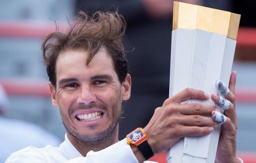 Rafael Nadal lần thứ 5 vô địch Rogers Cup, thiết lập kỷ lục mới