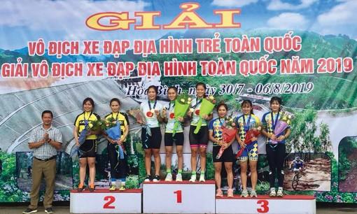 Xe đạp địa hình An Giang đoạt 7 huy chương vàng toàn quốc