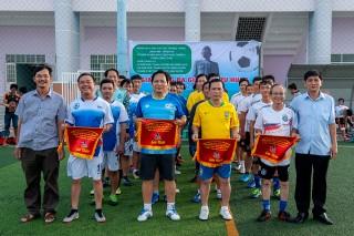 Giao lưu bóng đá tứ hùng chào mừng các sự kiện lớn của TP. Long Xuyên