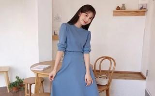 Các mẫu váy dáng dài cho nàng đón thu