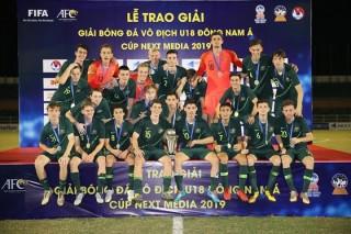 Australia vô địch giải U18 Đông Nam Á 2019