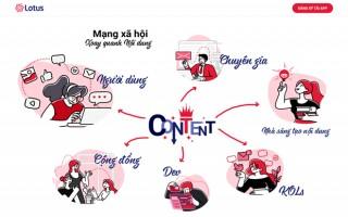 Sắp có thêm mạng xã hội Lotus 'made in Vietnam' trong tháng Chín