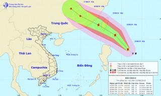 Thời tiết ngày 23-8: Bão Bailu gần biển Đông, Bắc Trung Bộ có mưa rất to và dông