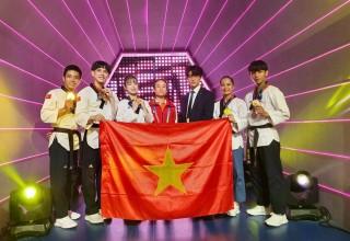 Taekwondo An Giang đoạt 6 huy chương World Cup 2019