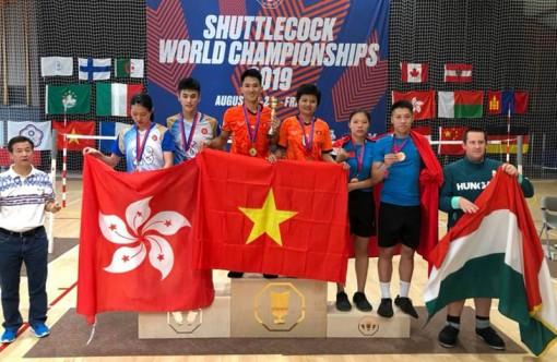 Đội tuyển Việt Nam giành thêm 2 HCB đá cầu thế giới