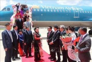 Chủ tịch Quốc hội Nguyễn Thị Kim Ngân đã đến Bangkok, Thái Lan