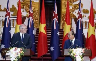 Gặp Tổng thống Mỹ, Thủ tướng Australia ca ngợi vai trò của Việt Nam