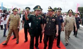 Nâng cao hiệu quả công tác phối hợp quản lý, bảo vệ biên giới Việt Nam -Campuchia
