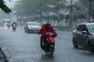 Các tỉnh Bắc Bộ, Bắc Trung Bộ mưa to từ đêm 29-8 đến ngày 2-9
