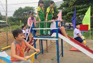 Phú Tân hoàn thành 6 khu vui chơi cho trẻ em trên địa bàn