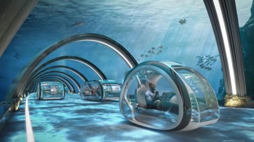 50 năm nữa sẽ có đường cao tốc dưới nước