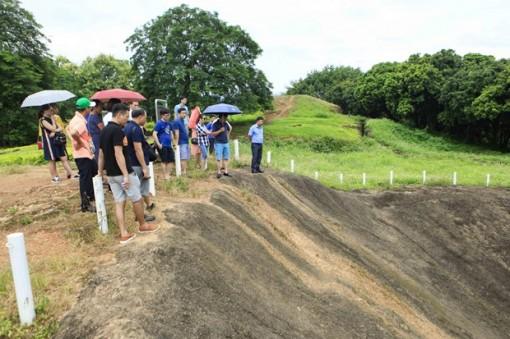 Di tích Chiến trường Điện Biên Phủ thu hút đông du khách dịp nghỉ lễ