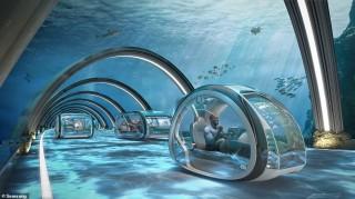 50 năm nữa, con người sẽ di chuyển dưới nước, du lịch vũ trụ và ở nhà tự dọn dẹp