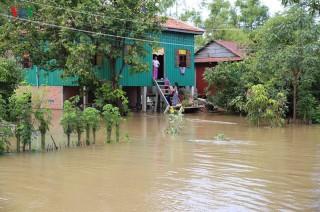 Nước sông Mekong dâng nhanh đe dọa nhiều địa phương tại Campuchia