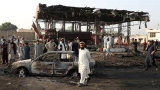 Tấn công liều chết ở Afghanistan khiến hơn 100 người bị thương
