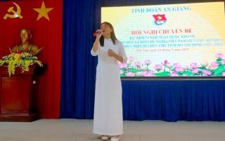"""Hội nghị chuyên đề kỷ niệm 74 năm Ngày Quốc khánh 2-9 và Diễn đàn """"Tuổi trẻ Phú Tân nhớ lời Di chúc theo chân Bác"""""""