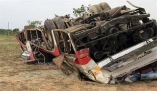 Tai nạn xe buýt thảm khốc tại Myanmar, ít nhất 3 người thiệt mạng