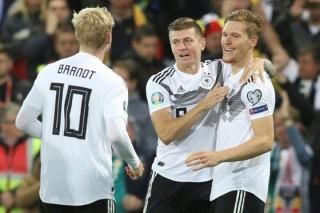 Vòng loại EURO 2020: Đức nhẹ nhõm, Hà Lan và Bỉ tiếp tục biểu dương sức mạnh