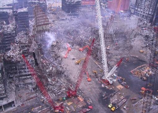 Những bức ảnh chưa từng được công bố về hiện trường sau vụ 11-9
